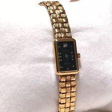 Swiss Diamond Wittnauer Classic Ladie's Watch Gold tone Bracelet - Reduced price