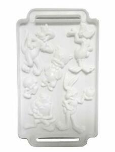 5 Looney Tunes Gelatin Jello Plastic Mold Instructions Taz Bugs Daffy Tweety