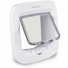 PetSafe Staywell Smart Flap Microchip Cat Flap - White - Door or Wall Mounting