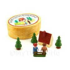 Maison de poupées miniature en bois Hamlet scène