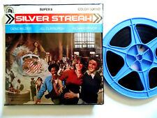 "Super 8mm color sound 1x400'' ""SILVER STREAK""  Gene Wilder Original Box"