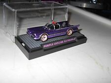 HOTWHEELS 2015 RALPHS CUSTOMS 66 TV  BATMOBILE PURPLE CHROME RIMS 1/10 REDLINES