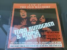 Todd Rundgren & Utopia - Live At The Old Waldolf (Gold Vinyl) [VINYL]