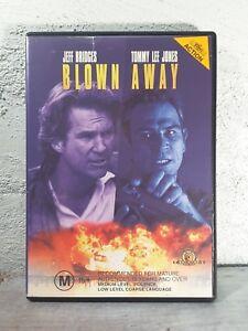 Blown Away DVD Tommy Lee Jones Action 90's Movie Jeff Bridges - REGION 4 Aust