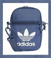Adidas Men's Women Originals Festival Mini Bag Organizer Shoulder Waistbag Navy