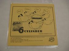 6 Cylinder/ Ain't Nobody Here But Us Chickens/ Goldrush/ 1979/ Canada/ 1st Press