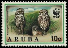 "ARUBA 102 - World Wildlife Fund ""Burrowing Owl"" (pb18787)"