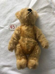 "Vintage SCHUCO PICCOLO Miniature 5 3/4"" Mohair Jointed Teddy Bear #43"