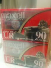 New listing Maxell Ur-90 Audio Tape Cassette Type 1 Normal Bias - New factory sealed