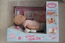 Zapf Baby Annabell Deluxe Bath Set. Includes Bag and Accessories