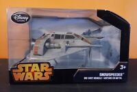 Disney Store Star Wars Rebel Snowspeeder Die-Cast Vehicle New Sealed Black Box