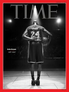 Time Magazine Kobe Bryant Tribute Cover Only 11x14 Page LAKERS Poster MAMBA