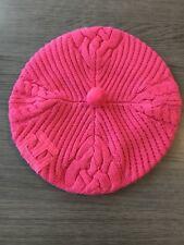 Béret rose vif / Tommy Hilfiger / Neuf avec étiquette