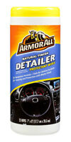 Armor All Natural Finish Detailer Protectant 25 Wipes for the New Car Look