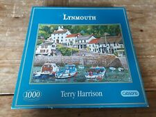 Gibsons 1000 Piece Jigsaw Puzzle Lynmouth COMPLETE