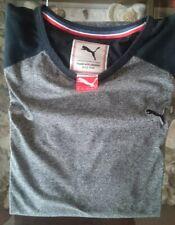 vintage rare pre serial sample PUMA Style Athletic Tee T-shirt Sportswear 832272
