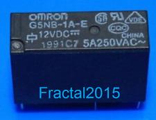 1pcs G5NB-1A-E-12VDC G5NB-1A-E-DC12V G5NB-1A-E-12V 5A 250VAC