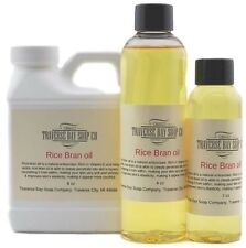 Rice Bran Oil. 8 oz, Soap making, lotion, creams, massage oil, bath, beauty,