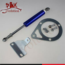 For 89-94 240SX S13 SR20DET KA24DE Engine Torque Damper Brace Mounting Kit Blue