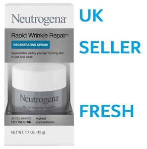 Neutrogena Rapid Wrinkle Repair REGENERATING Cream Day MAXIMUM STRENGTH 48g/1.7