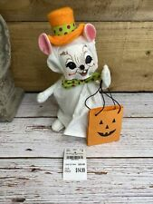 New listing Annalee Halloween 6 In Mouse Trick or Treat Ghost Doll 2017 Bendable