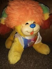 "1983 Vintage Rainbow Brite Puppy Bright Plush Dog 12"" Mattel Hallmark Rare"