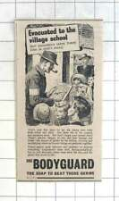 1941 Bodyguard Soap Beats The Germs In Village Schools
