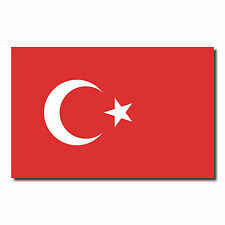 10 Sticker 8,5cm Turkey Türkiye Football European Cup World National Flag