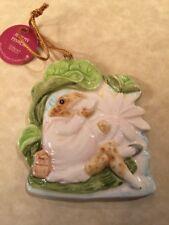 Schmid Beatrix Potter Creations Jeremy Fisher Ornament