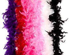 Bachelorette Party Feather Boas - 6 Pack of 6 Feet Long Boas Vibrant Color