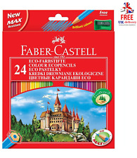 Faber Castell 24 Colour Pencils With Sharpener