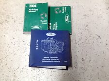 2004 Ford Taurus Mercury Sable Service Shop Repair Manual Set W EVTM Trans Refer