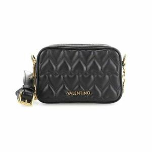 Valentino Bags Quilted Miami Cross Body  Leather Handbag - Black