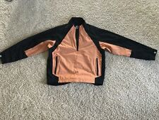 Footjoy Dryjoy Windproof Golf Jacket XL/LGE Black & Salmon