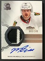 2016-17 Upper Deck The Cup Mark McNeill Rookie Auto Patch Chicago Blackhawk /249