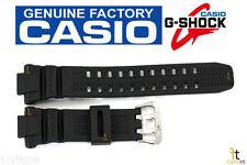 CASIO G-Shock G-1250 Original Black Rubber Watch BAND Strap G-1000 G-1100 G-1500