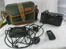 Sharp Viewcam VL-E37 camcorder video camera Hi 8 bundle
