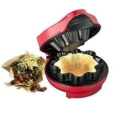 Melissa Food Fiesta Taco Waffel Tortillas Maker Eis Becher Nachtisch Nachspeise
