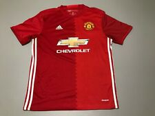 Nike 2016-2017 Manchester United IBRAHIMOVIC #9 Home Soccer Jersey Adult Size M