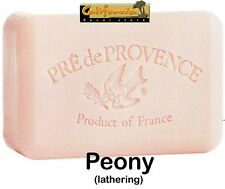 Pre de Provence French Soap Peony 250 gram Shower Bath Bar Shea Butter Lathering
