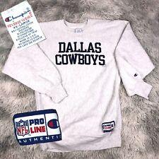 Vintage 1990's Champion Reverse Weave NFL PRO LINE Dallas COWBOYS Sweatshirt 2XL