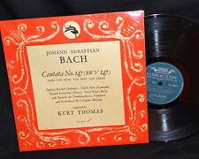 J.S. Bach Cantata No. 147 (BWV 147) - London SOL 60027 - EX+-NM/VG+