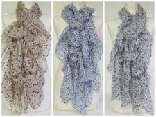 Vintage Damen-Schals Blumenmuster