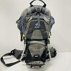 Deuter Kid Comfort II 2 Child Carrier Hiking Backpack Grey Outdoors Camping EUC