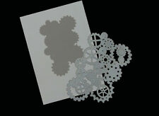 Airbrush Schablonen / Stencil 0641 Zahnräder 3