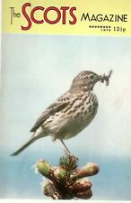 1973 NOV 33499 The Scots Magazine Cover Picture  MEADOW PIPIT