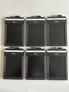 6 Fidelity Elite 4x5 film holders Plus New Carry Case