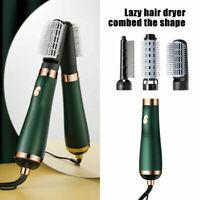 3 in1 Hair Curling Dryer Straightener Brush Hot Comb Roller Styling Styler Salon