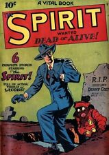 The Spirit #1 Photocopy Comic Book