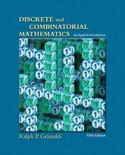 NEW:Discrete and Combinatorial Mathematics by Ralph P. GrimaldIi 5ED INTL ED